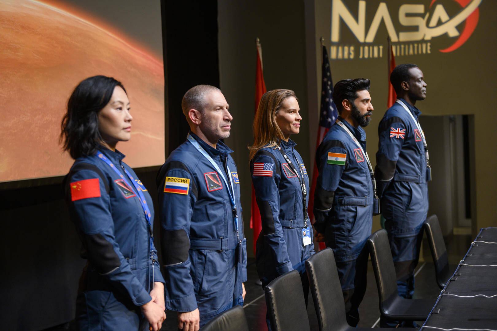 L'equipaggio dell'Atlas in rotta verso Marte