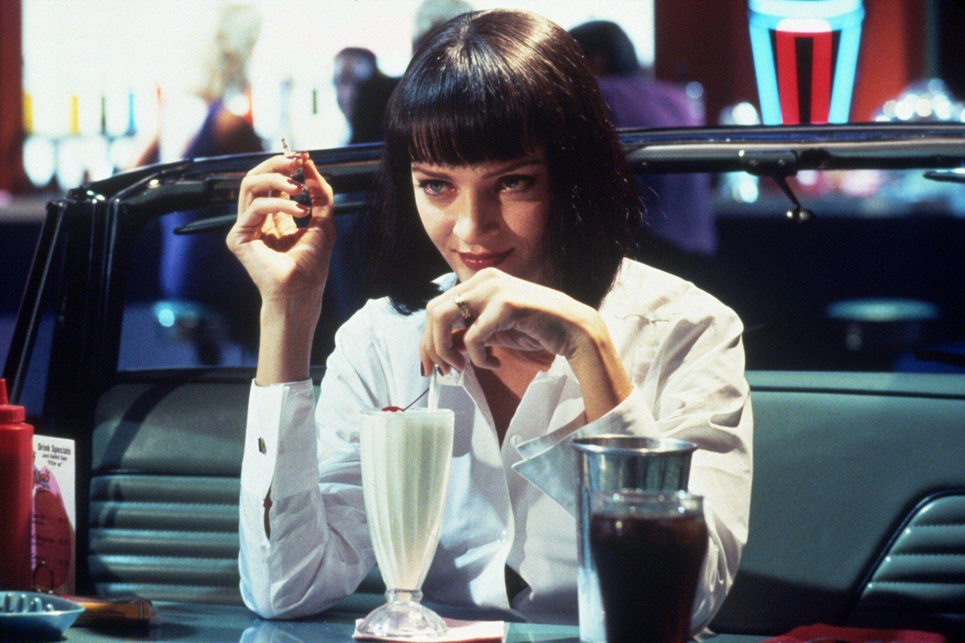 Mia Wallace in Pulp Fiction (1994)