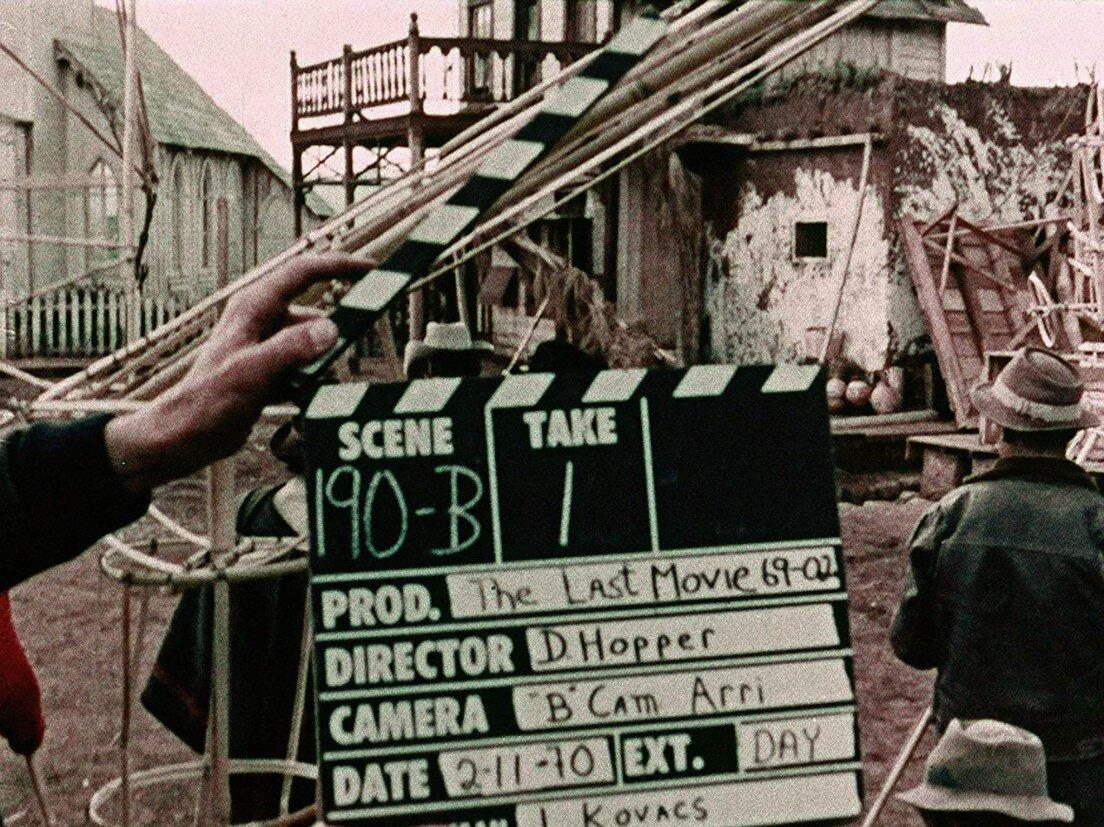 Il ciak durante la lavorazione di Fuga da Hollywood