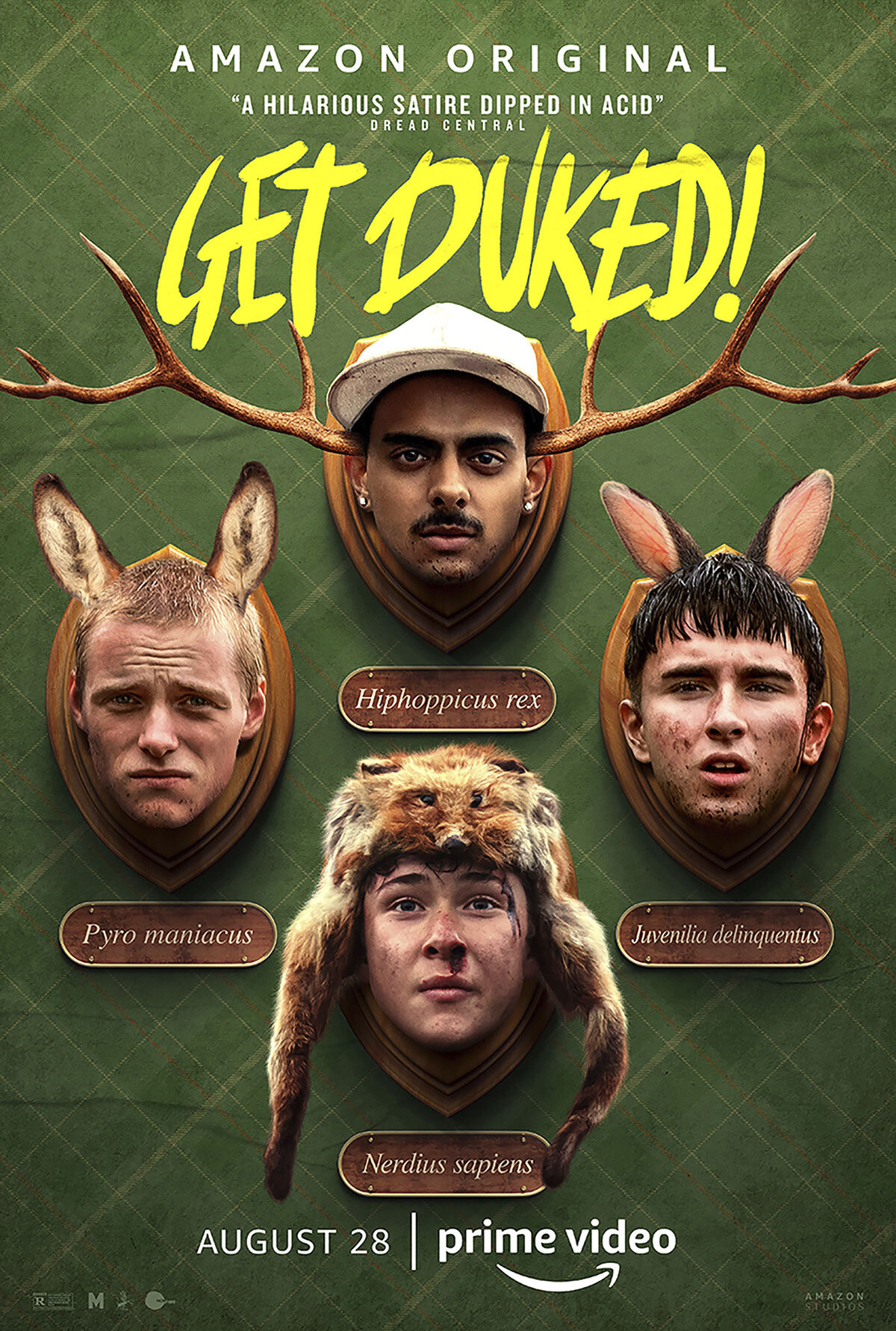 Get Duked: Il Poster
