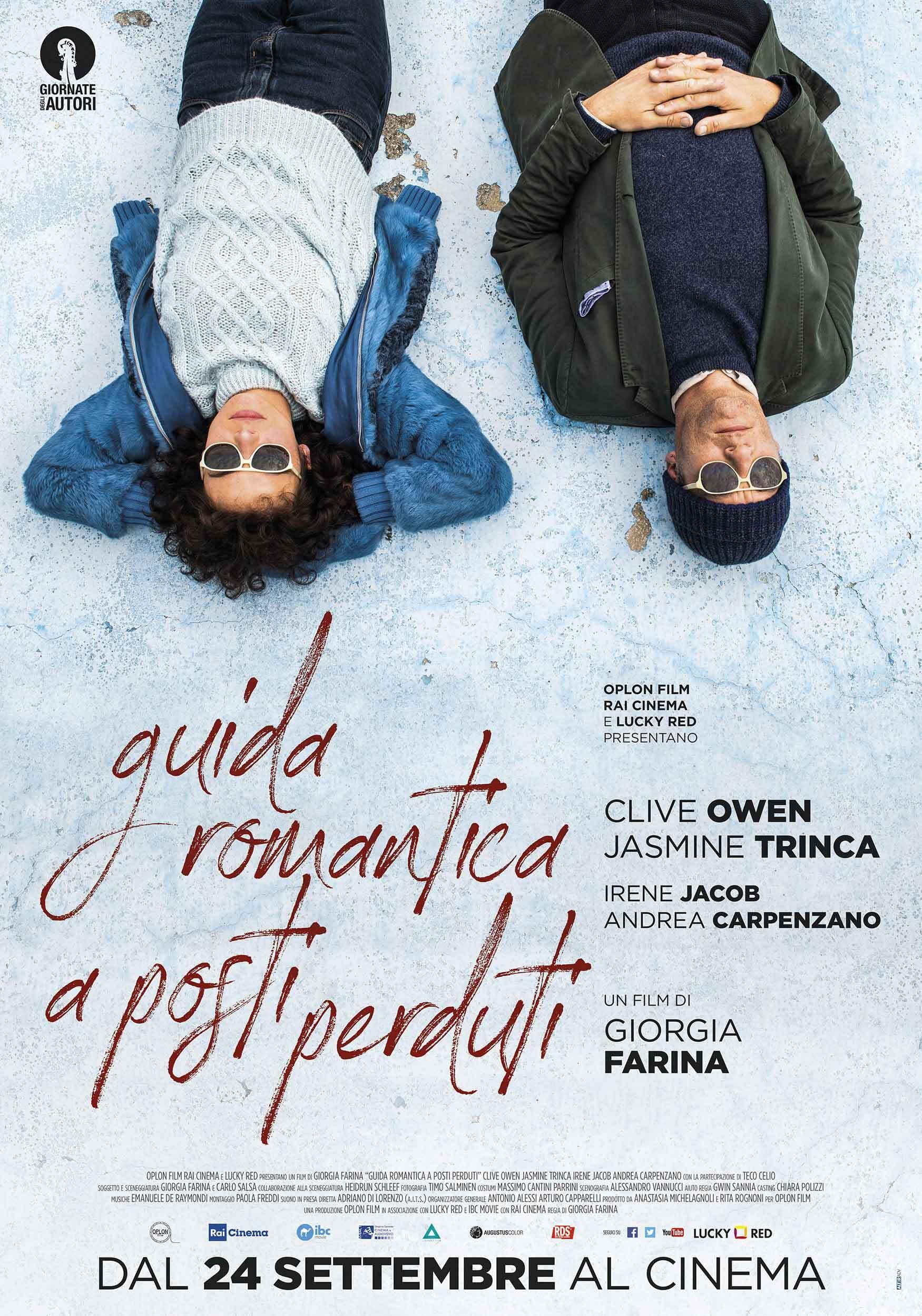 Guida romantica a posti perduti: il poster