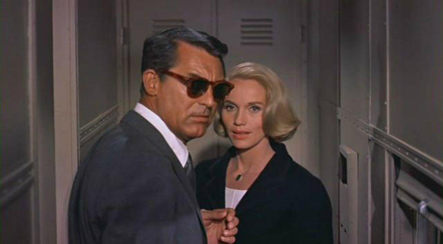 Cary Grant e Eve Marie Saint