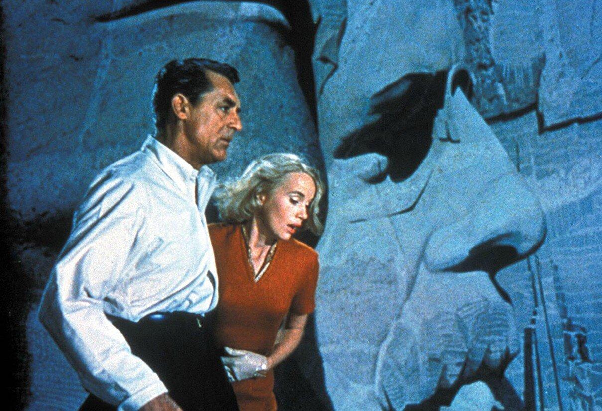 Cary Grant e Eva Marie Saint