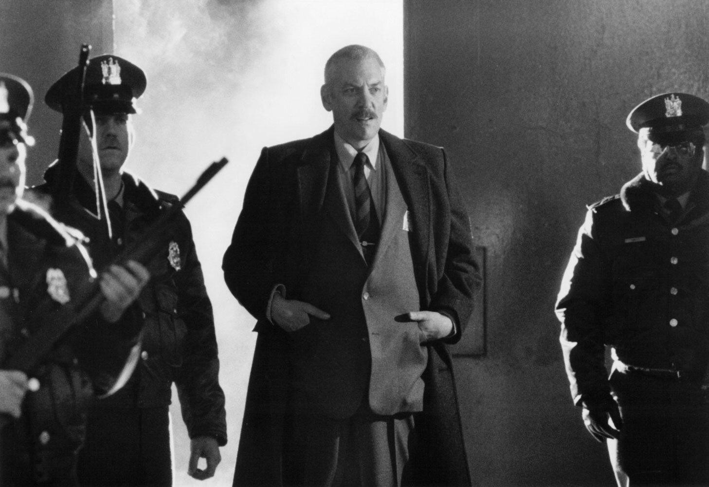 Drumgoole (Donald Sutherland) in Sorvegliato speciale