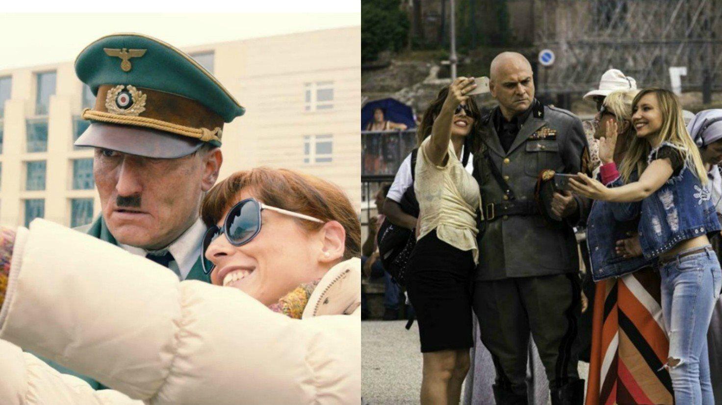 Adolf Hitler di Oliver Masucci e Benito Mussolini di Massimo Popolizio