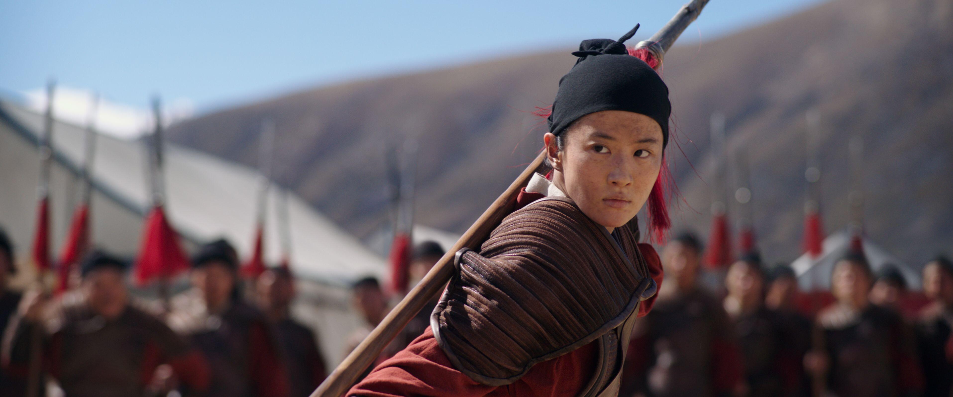 La protagonista Yifei Liu