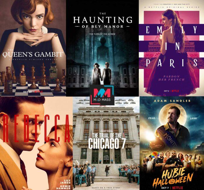 Netflix ottobre 2020 programmazione