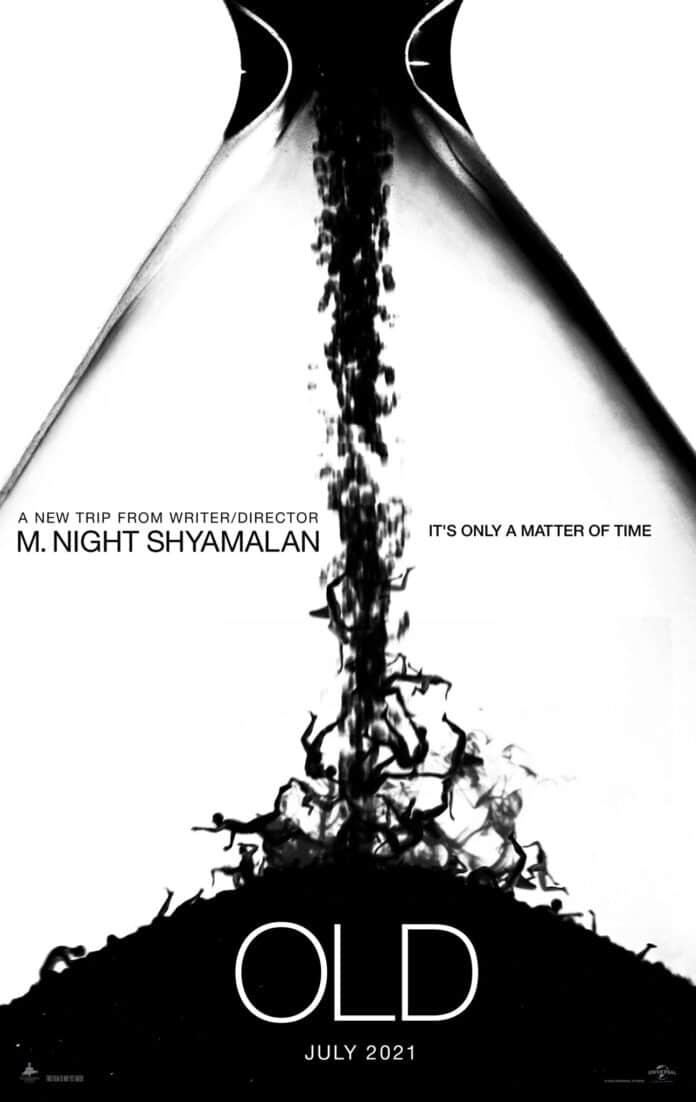 Il poster di Old di M. Night Shyamalan
