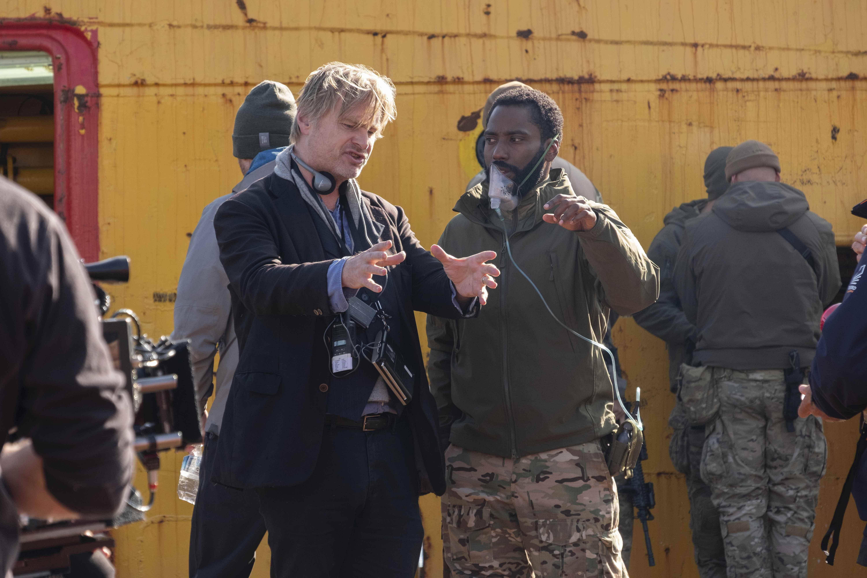 Christopher Nolan e John David Washington