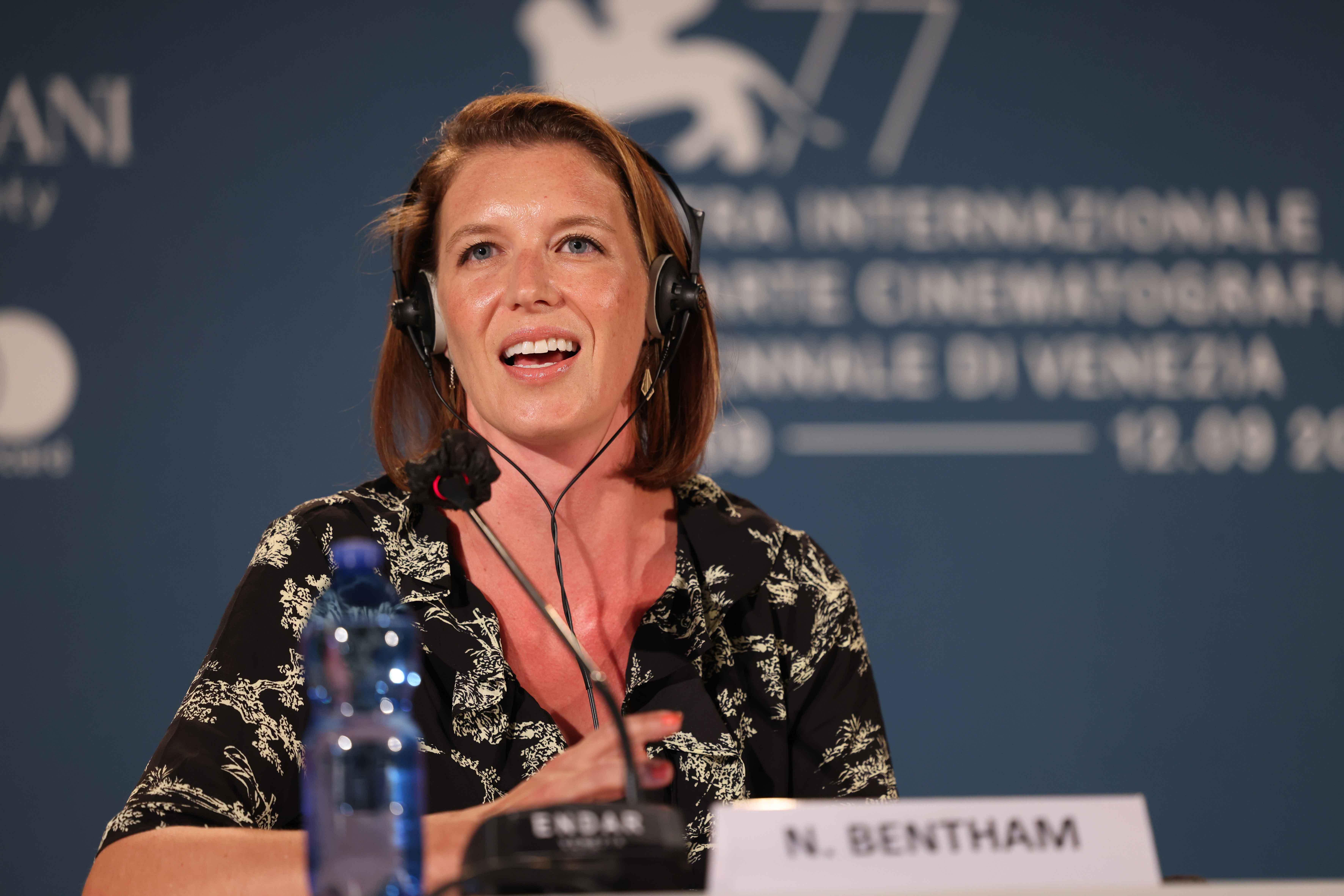 La produttrice Nicky Bentham