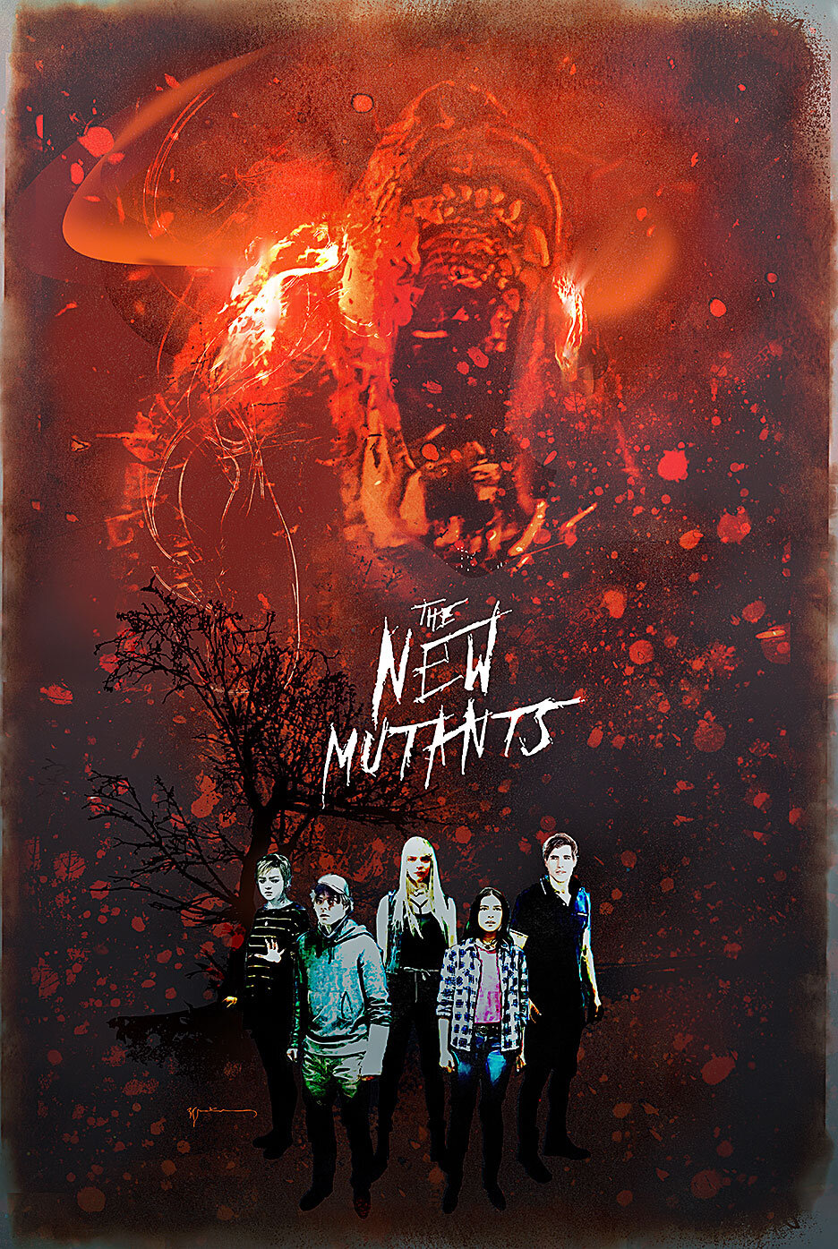The New Mutants: il poster