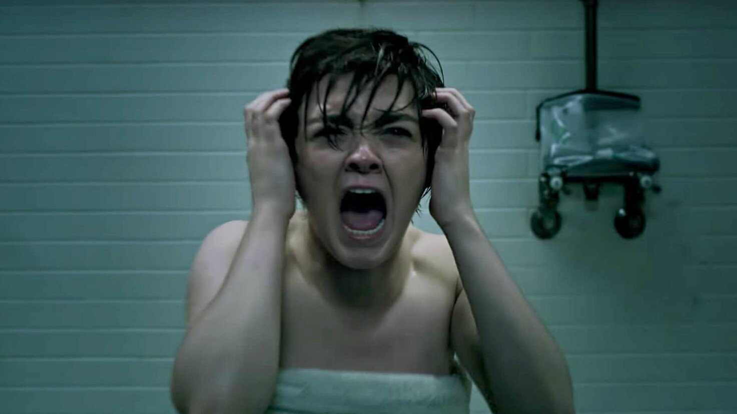 Maisie Williams in una scena de The New Mutants