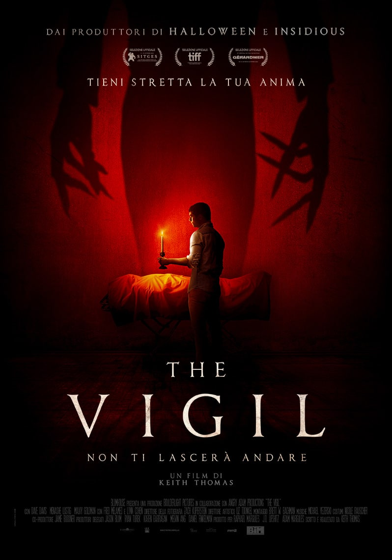 The Vigil: il poster