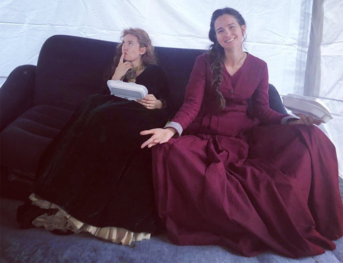 Vanessa Kirby e Katherine Waterston