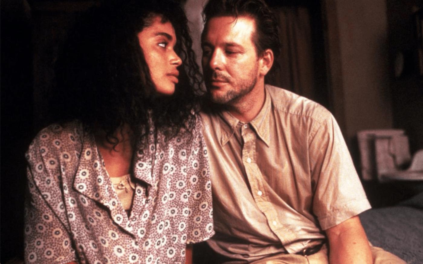 Lisa Bonet e Mickey Rourke