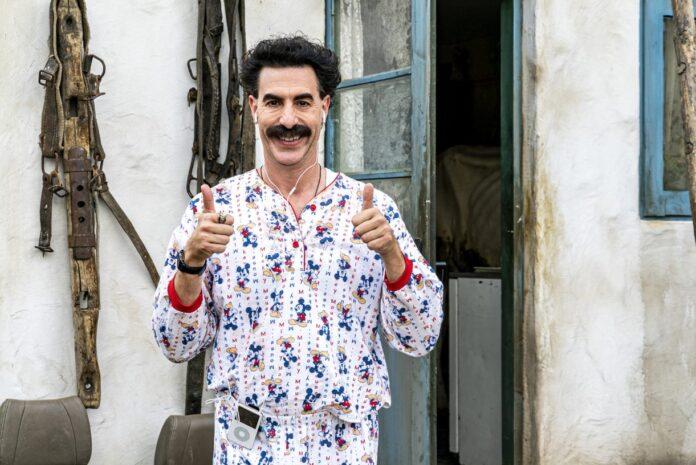 Borat Subsequent Moviefilm recensione film con Sacha Baron Cohen