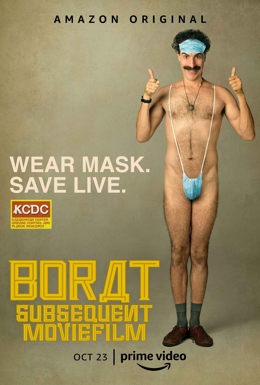 Borat Subsequent Moviefilm: il poster