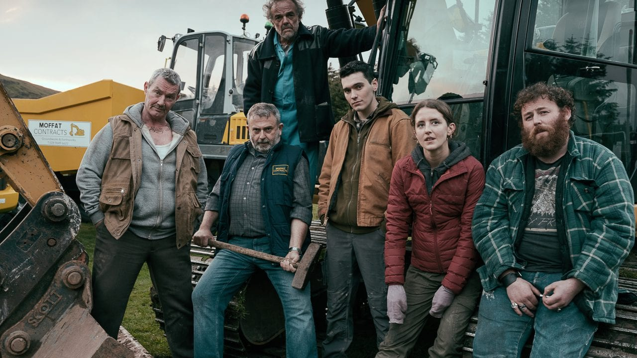 Morgan C. Jones, Marty Maguire, Nigel O'Neill, Michael Hough, Louisa Harland e Jack Rowan