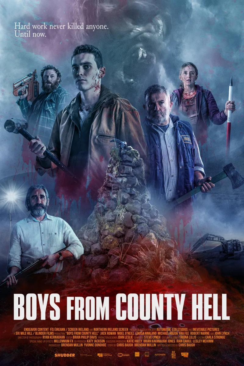 Boys from County Hell: il poster