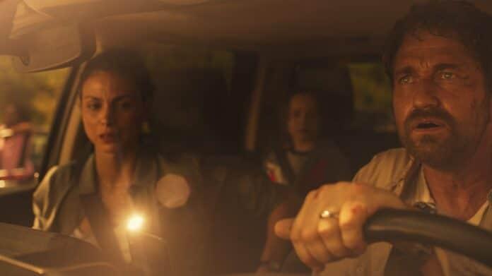 Greenland recensione film con Gerard Butler e Morena Baccarin