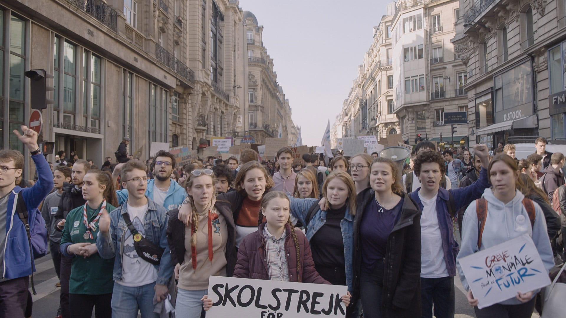 I Am Greta il film documentario di Nathan Grossman con Greta Thunberg