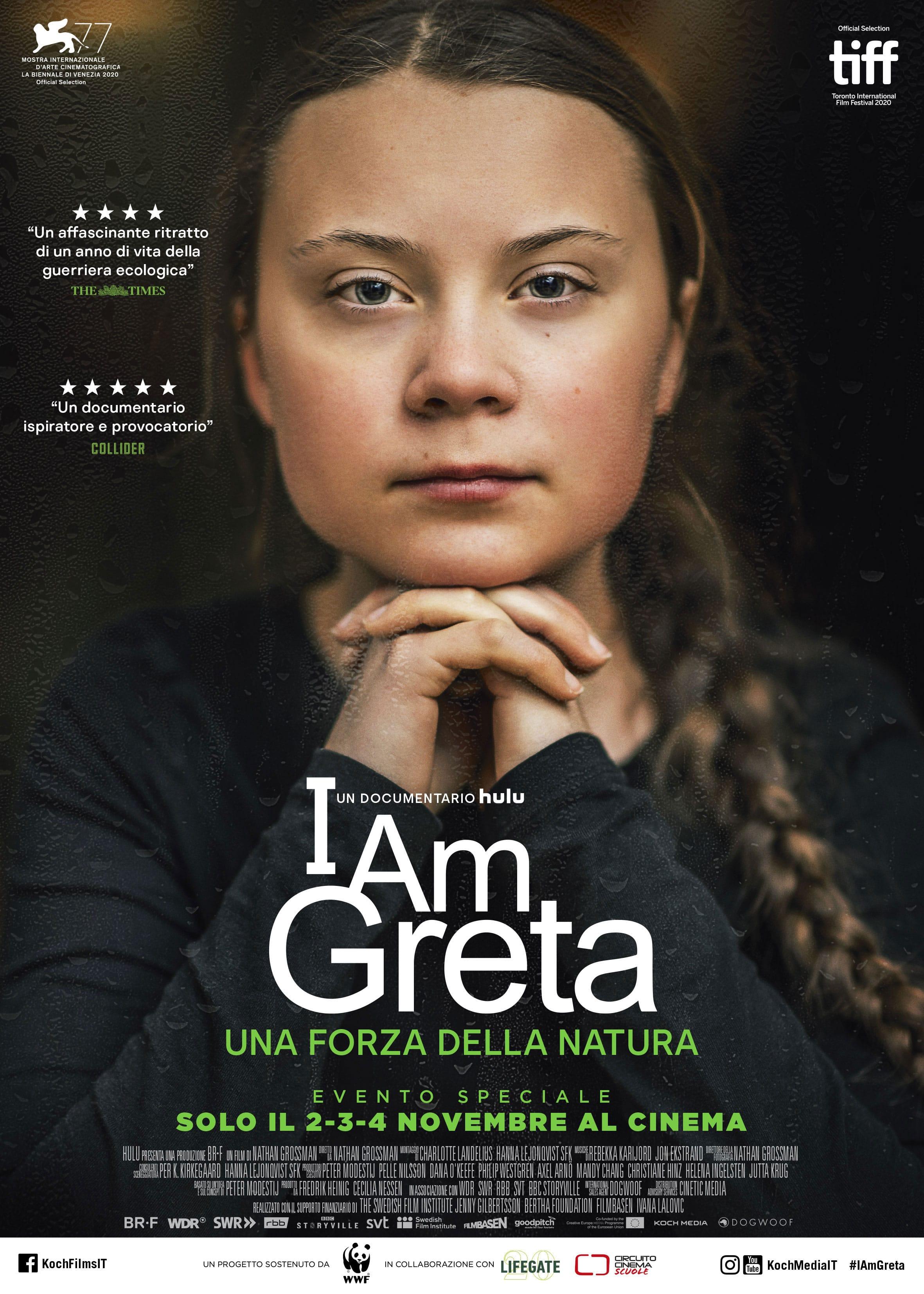 I Am Greta: il poster