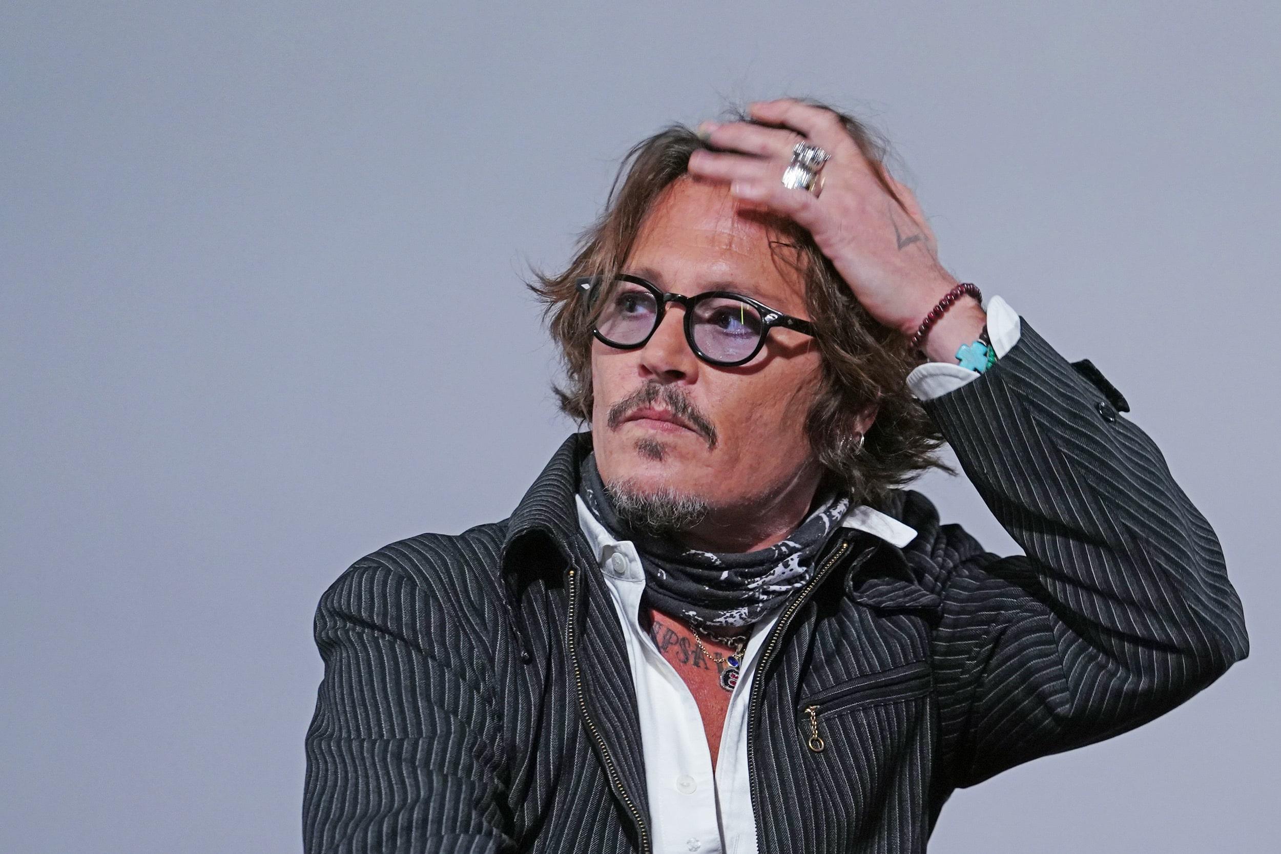 Johnny Depp a Zurigo durante lo Zurich Film Festival 2020