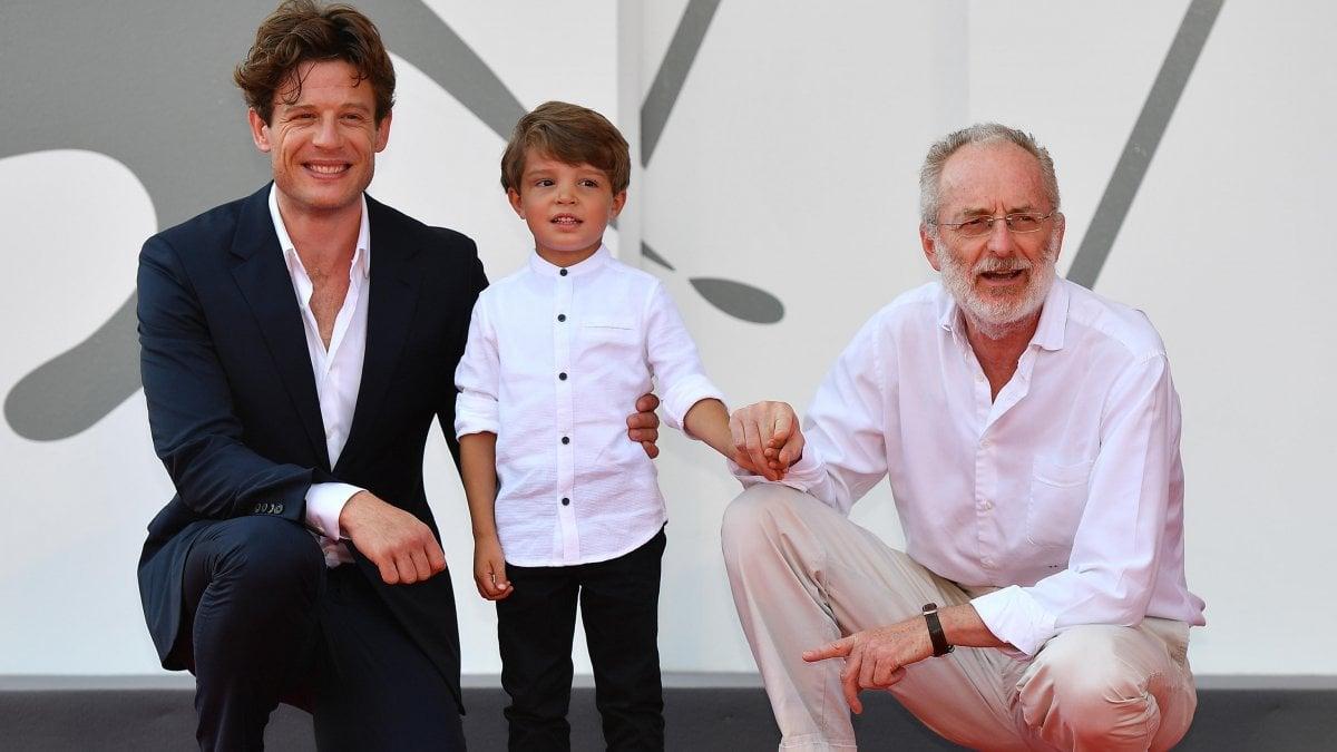Uberto Pasolini con James Norton e Daniel Lamont