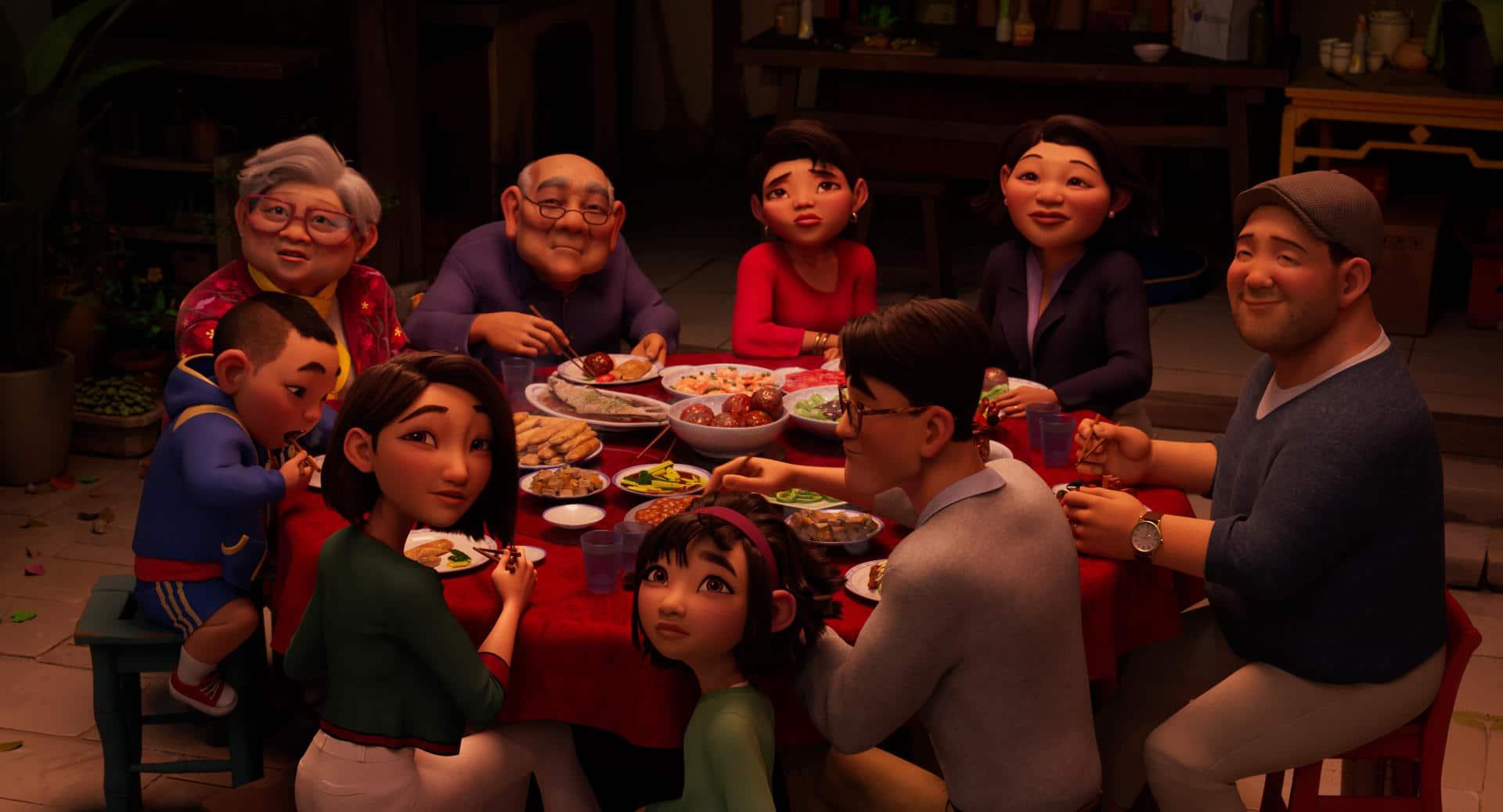 Over the Moon - Il fantastico mondo di Lunaria recensione film d'animazione Netflix