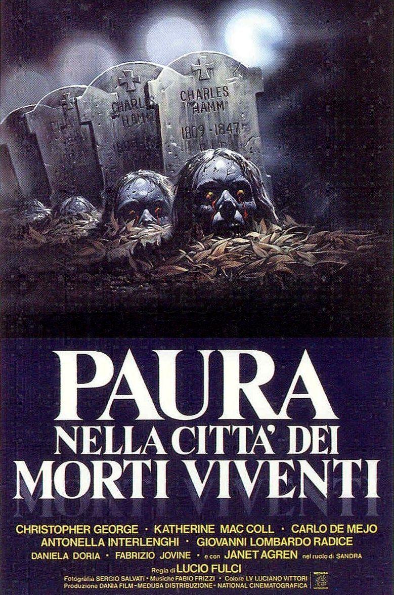 Paura nella città dei morti viventi: il poster