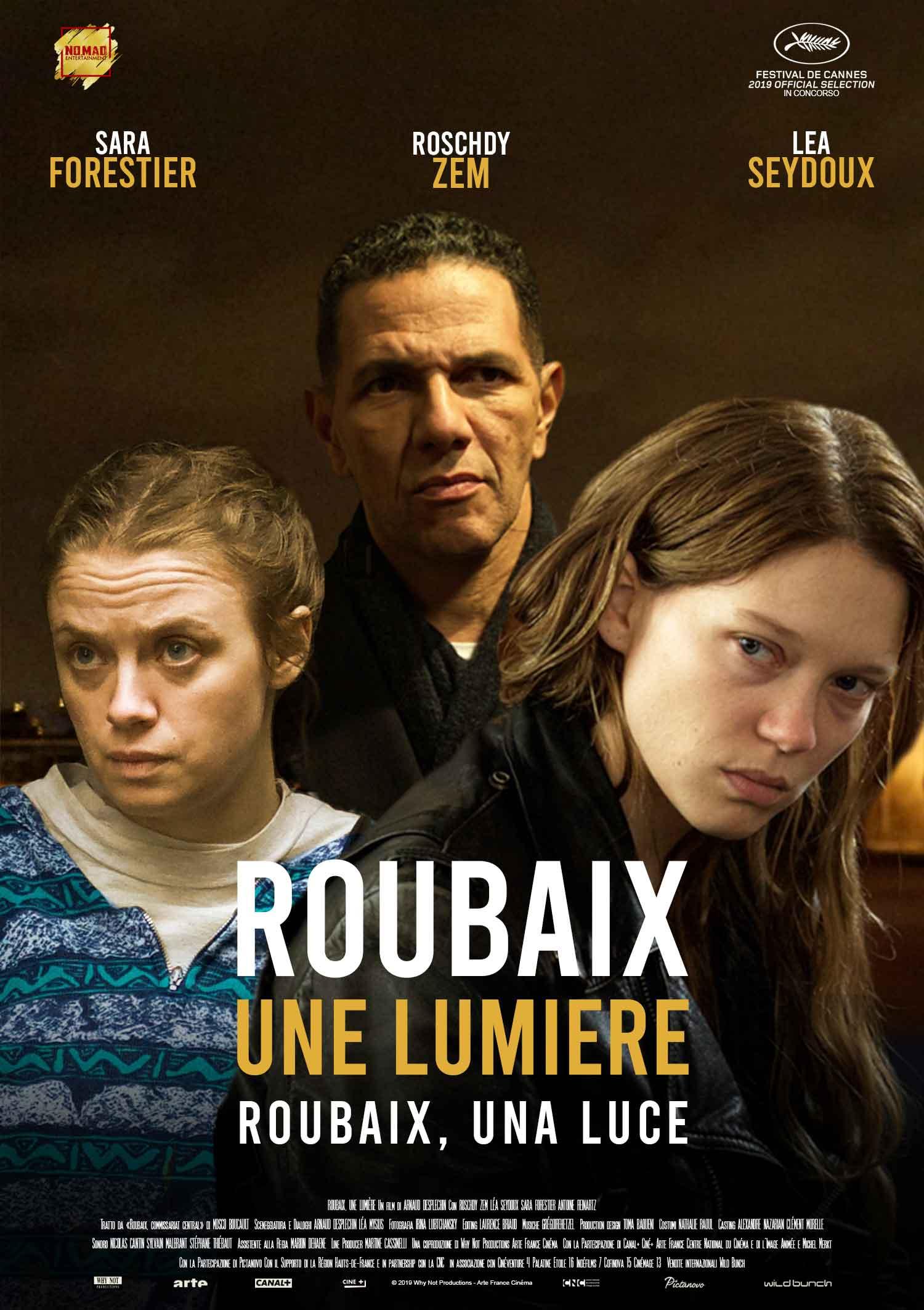 Roubaix una luce: il poster