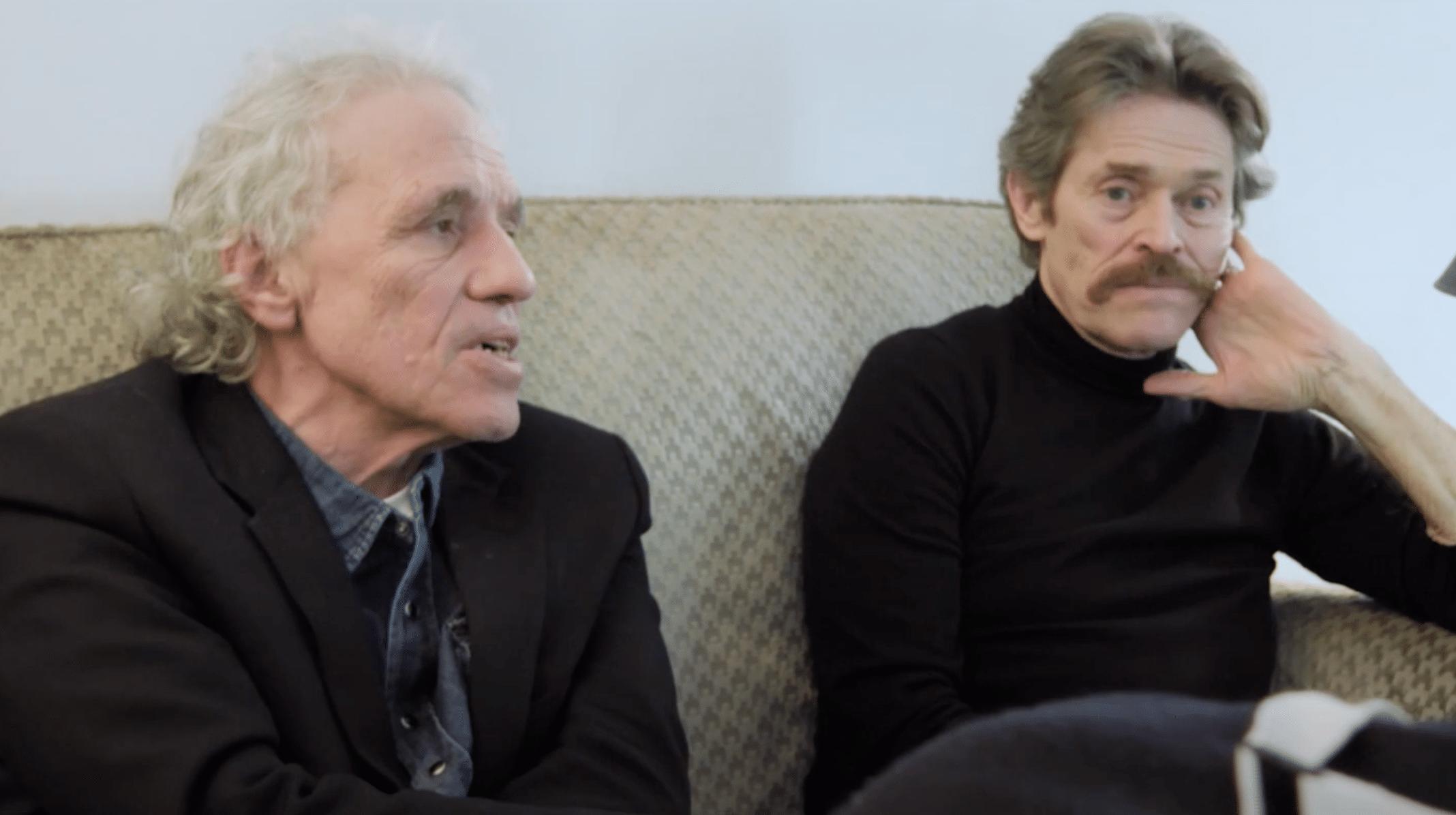 Abel Ferrara e Willem Dafoe