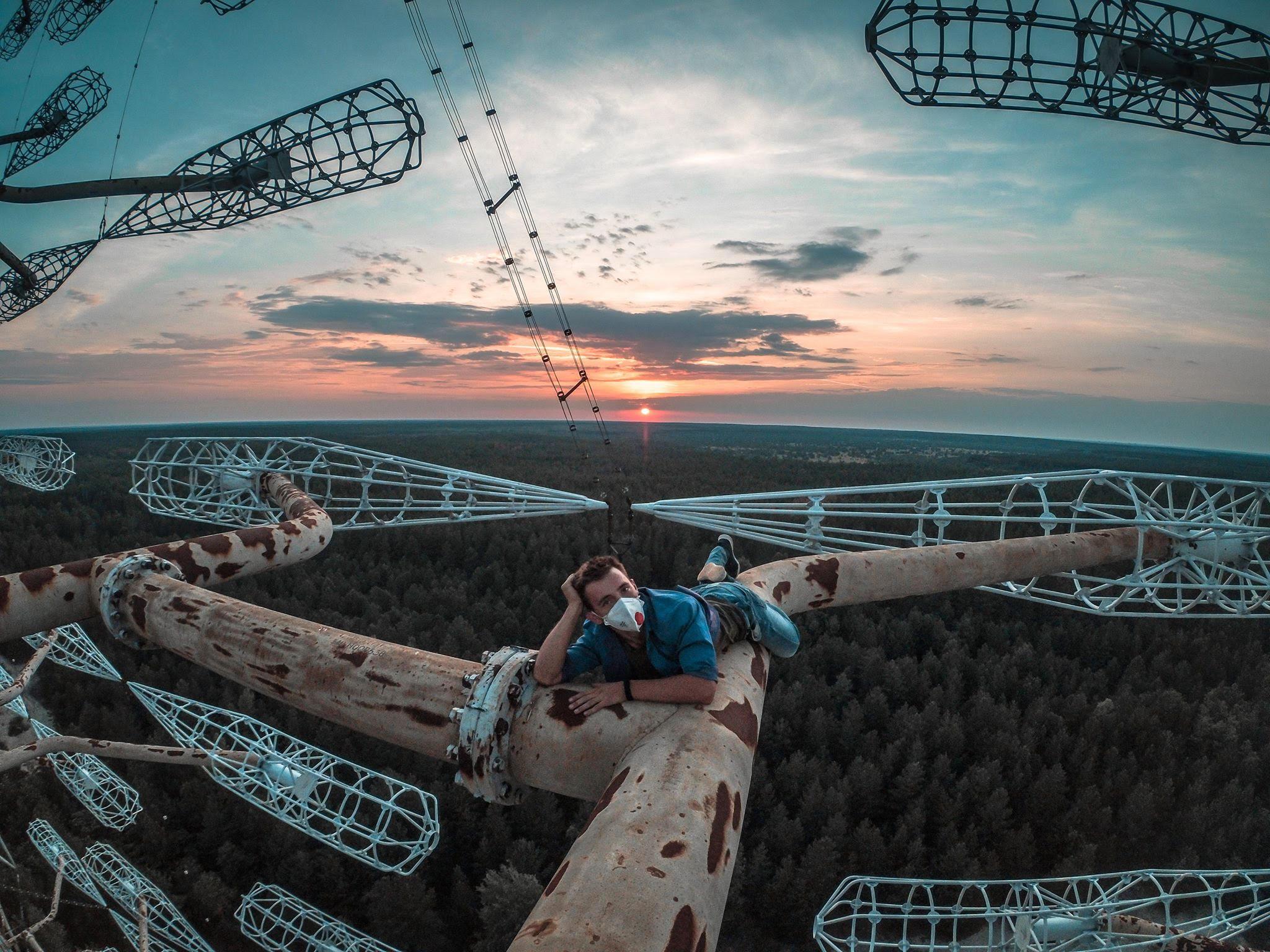 Gli urbexer estremi che visitano Chernobyl