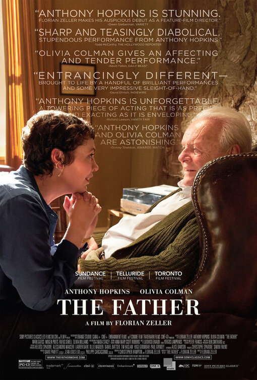 The Father: il poster