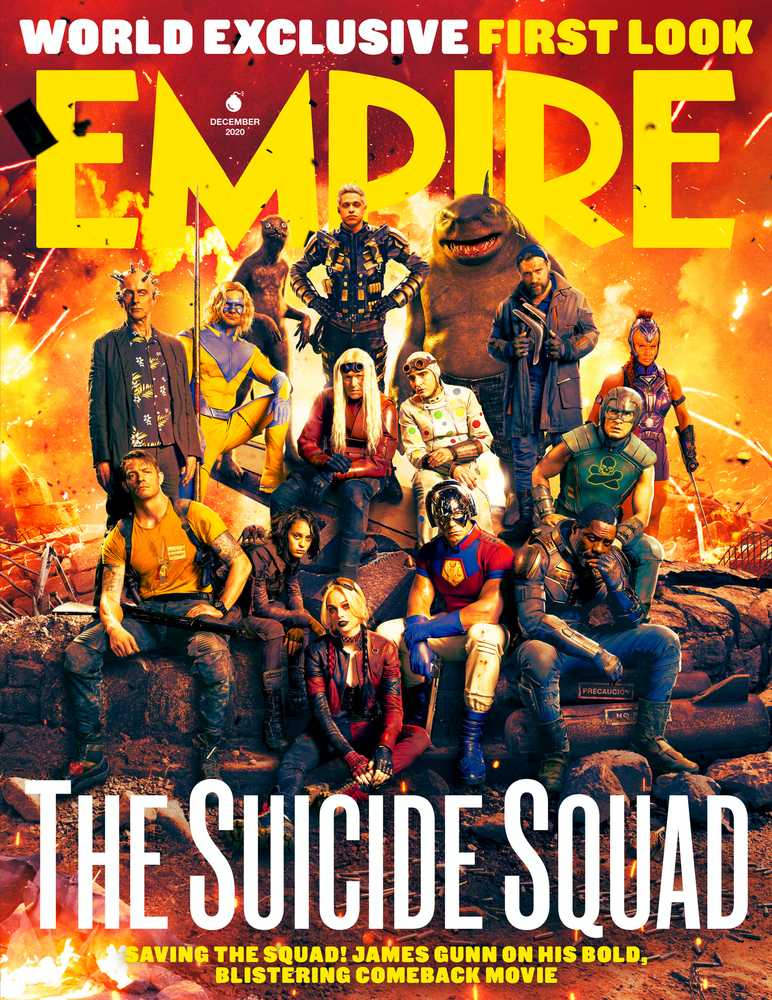 Cinema News The Sucide Squad di James Gunn: la cover di Empire
