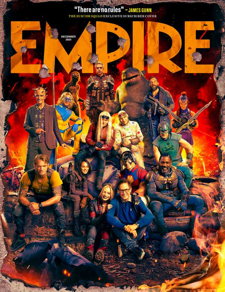 The Sucide Squad di James Gunn: la cover di Empire