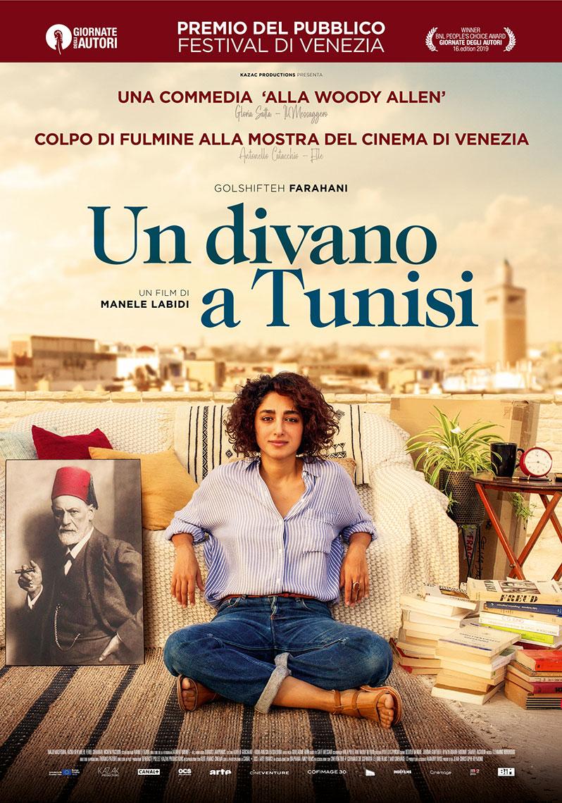 Un divano a Tunisi: il poster