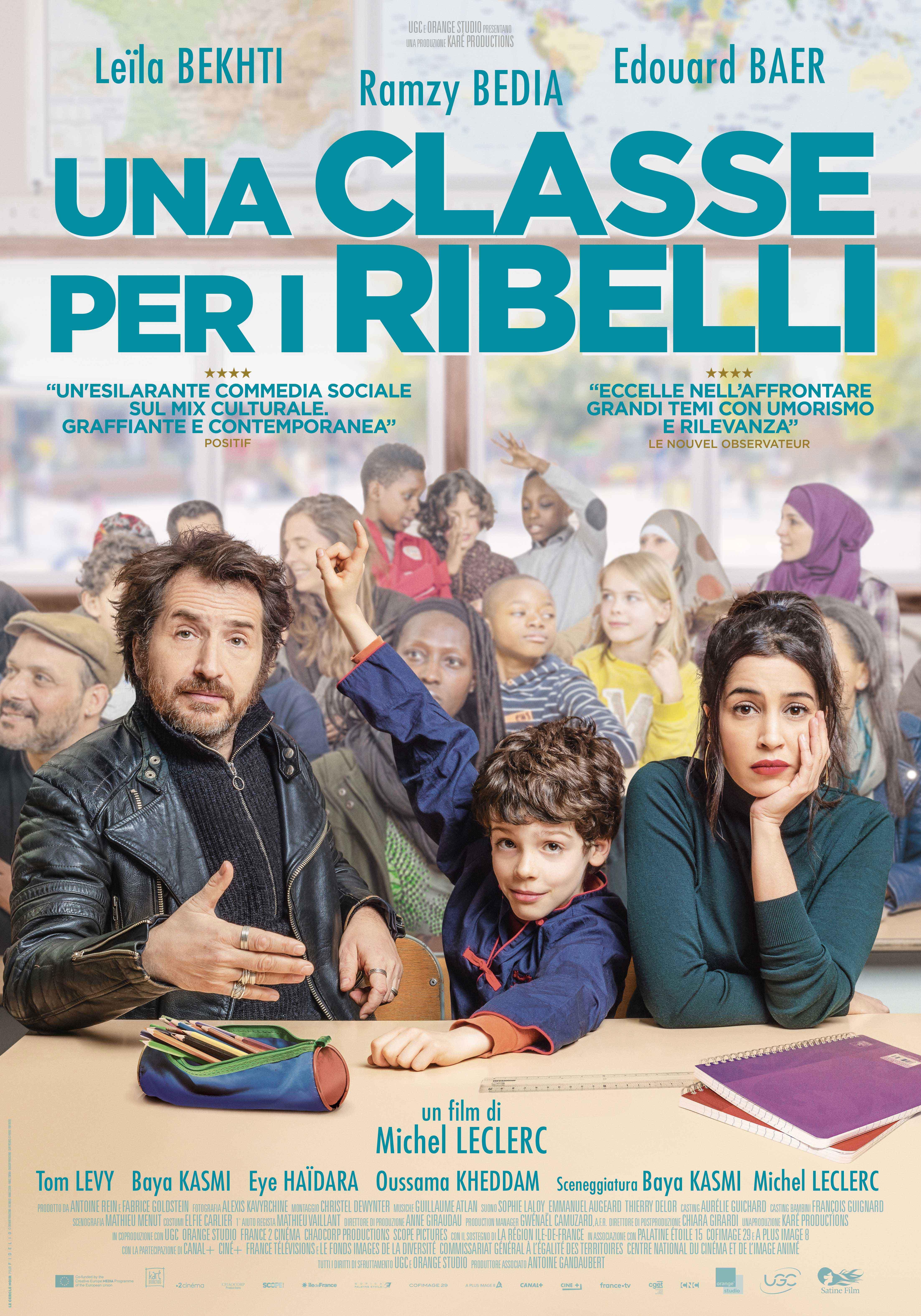 Una classe per i ribelli: il poster