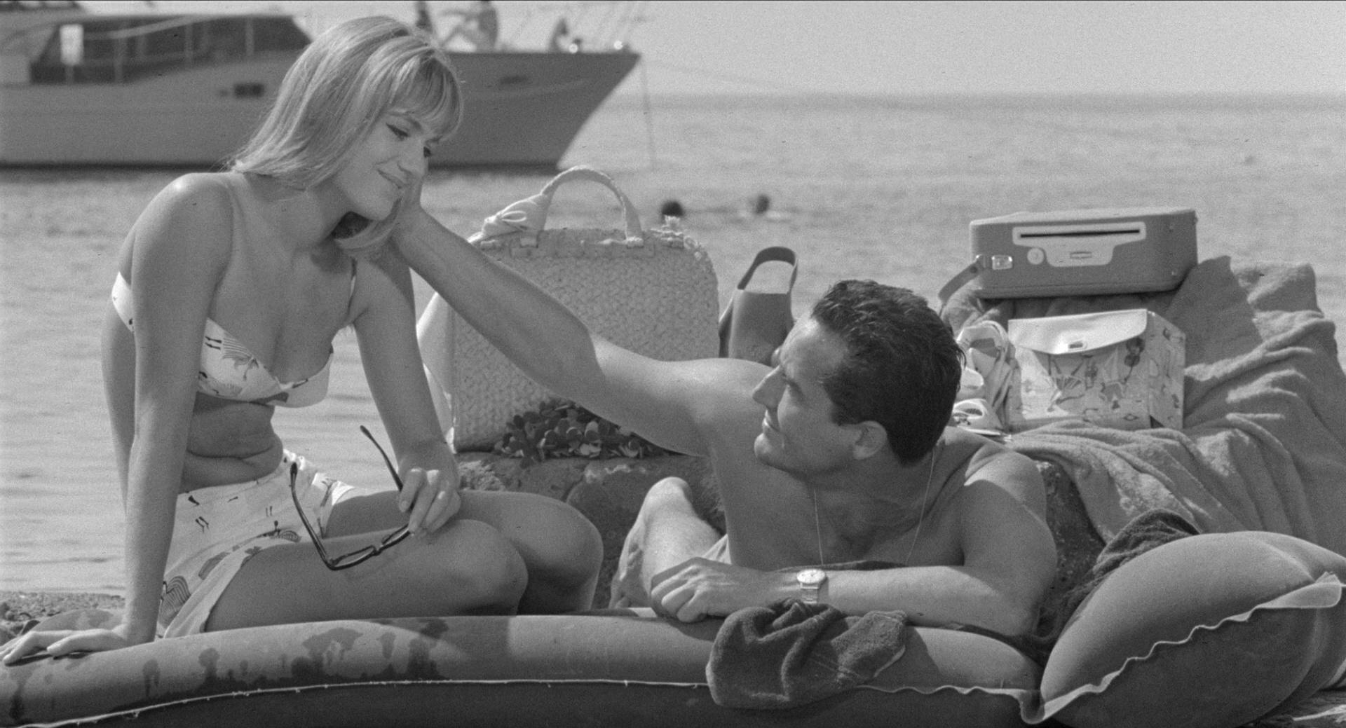 Catherine Spaak e Vittorio Gassman