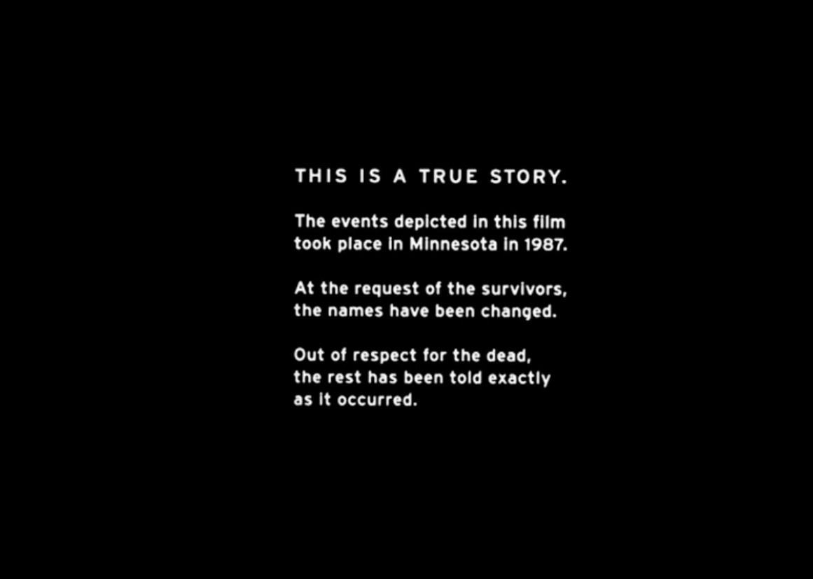 """La prima versione del disclaimer """"True Story"""" di Fargo"""