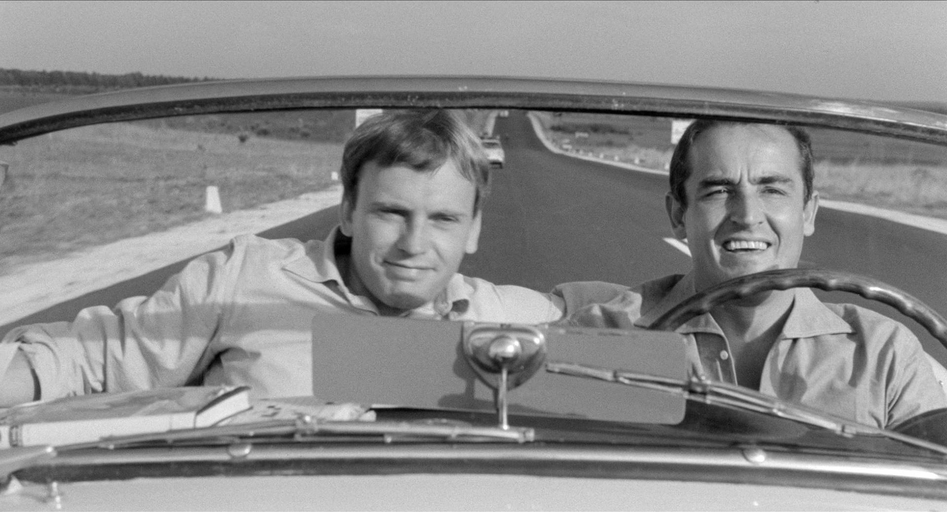 Jean-Louis Trintignant e Vittorio Gassman