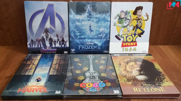 Black Friday Amazon 2020: le offerte Disney e Marvel in Blu-ray steelbook e cofanetti