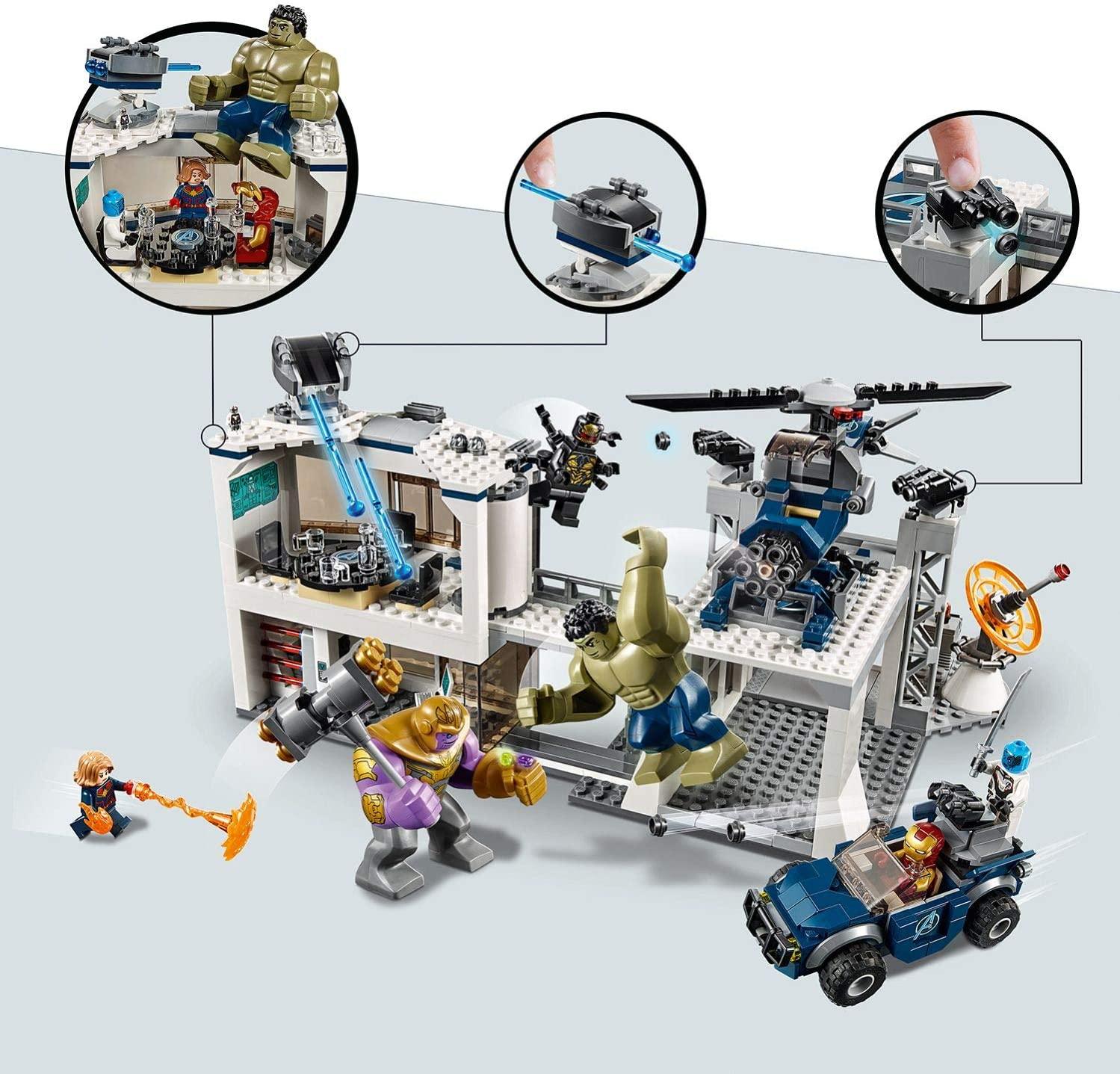 LEGO Marvel Avengers Battaglia nel Quartier Generale 76131
