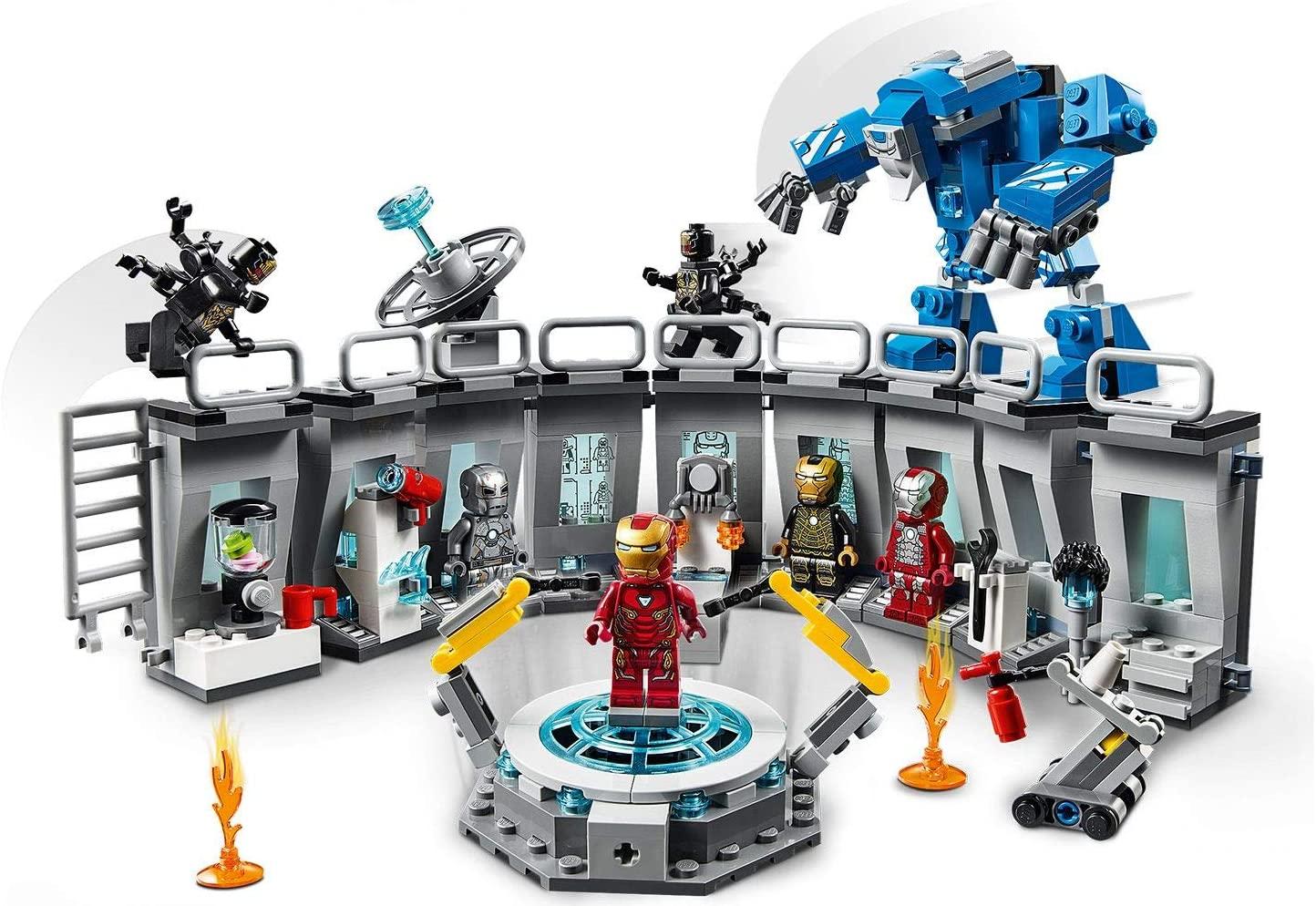 LEGO Marvel Avengers Sala delle Armature di Iron Man 76125
