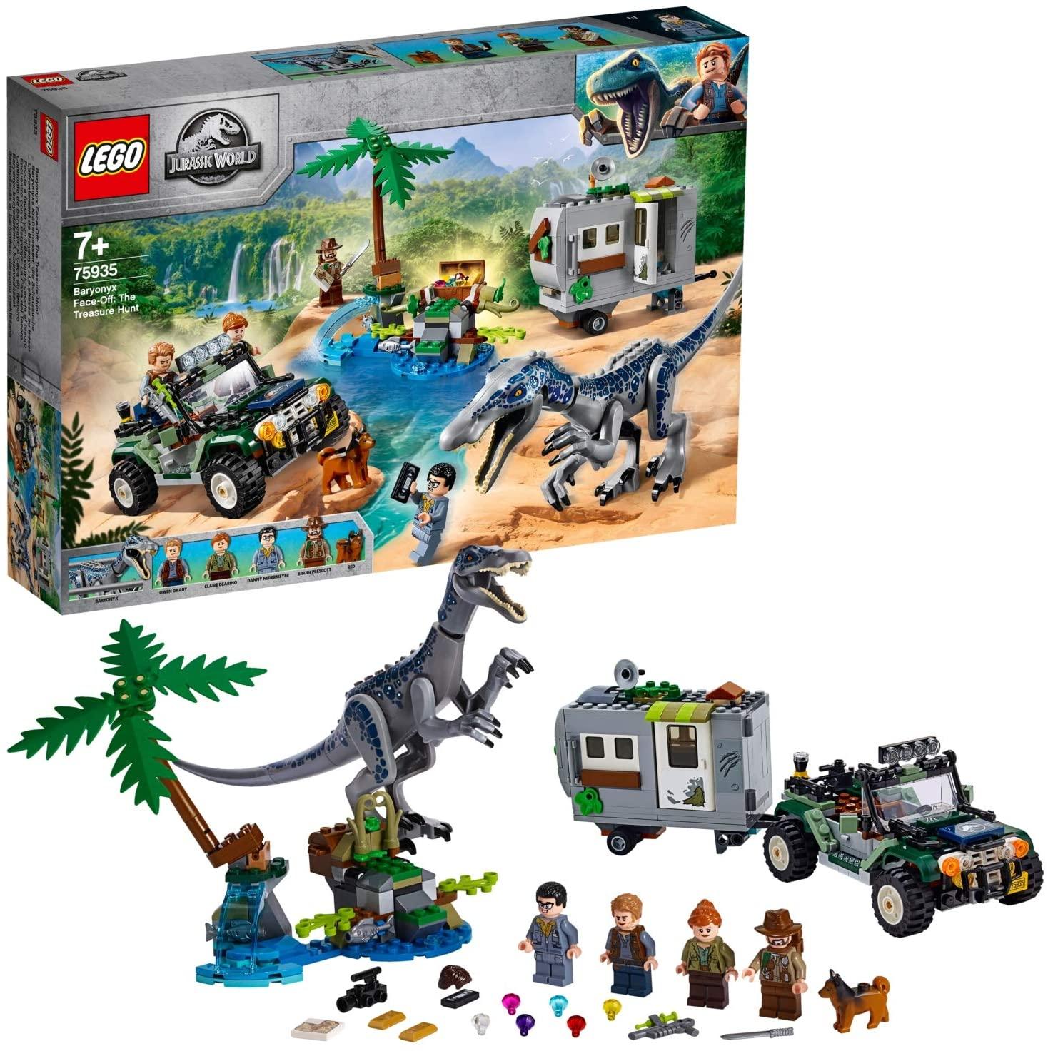 LEGO Jurassic World Faccia a Faccia con il Baryonyx: Caccia al Tesoro 75935
