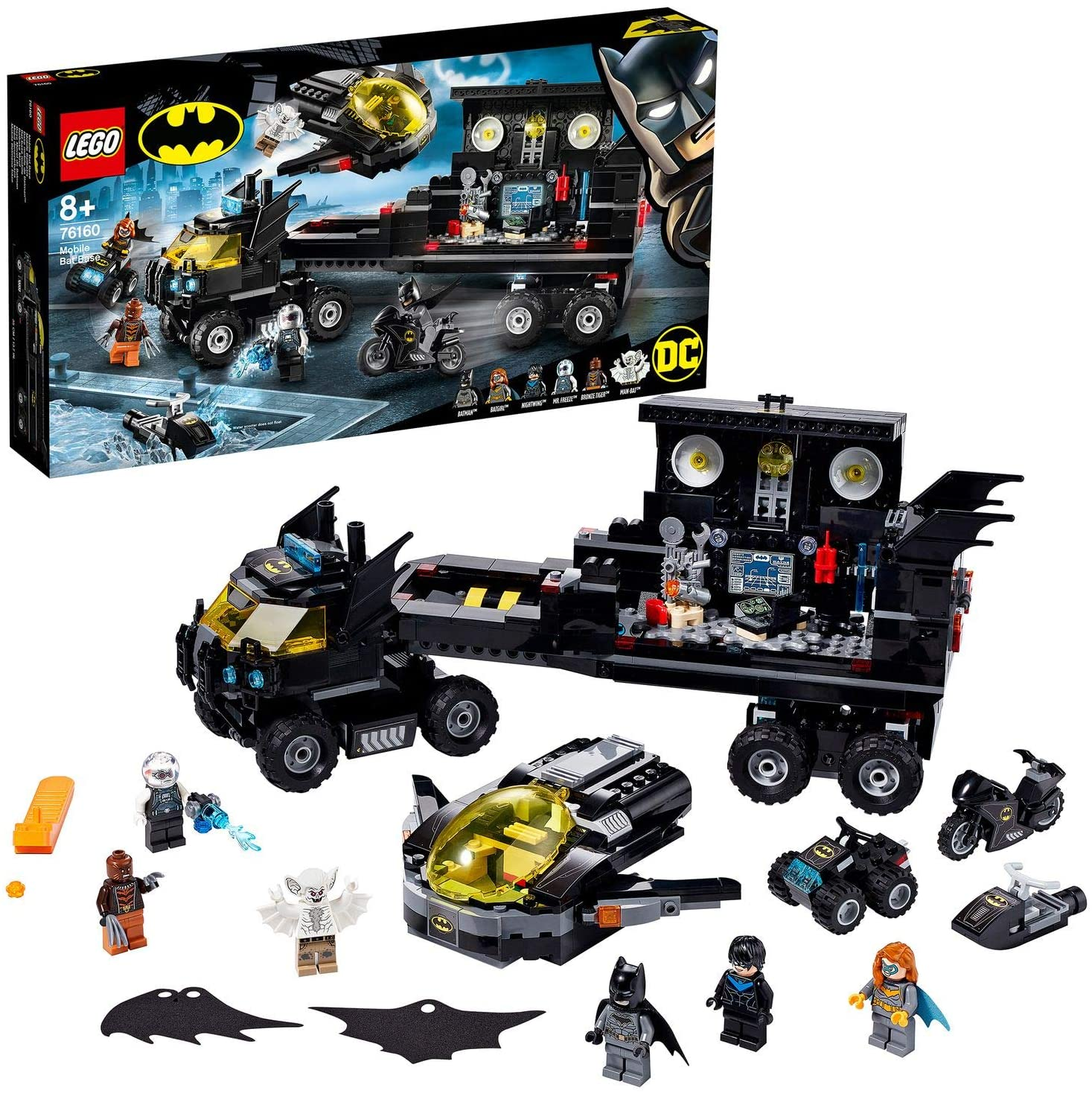 LEGO DC Batman Bat-base mobile 76160