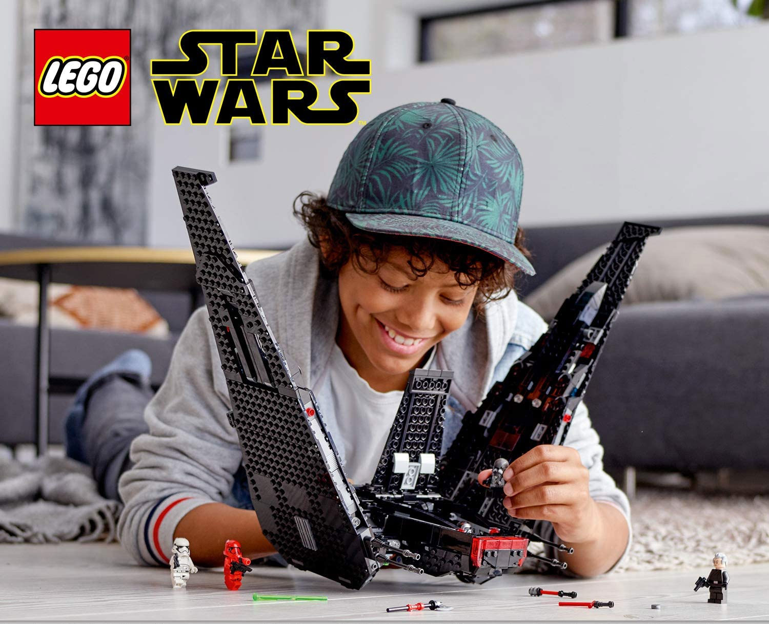 LEGO Star Wars: L'ascesa di Skywalker Shuttle di Kylo Ren 75256