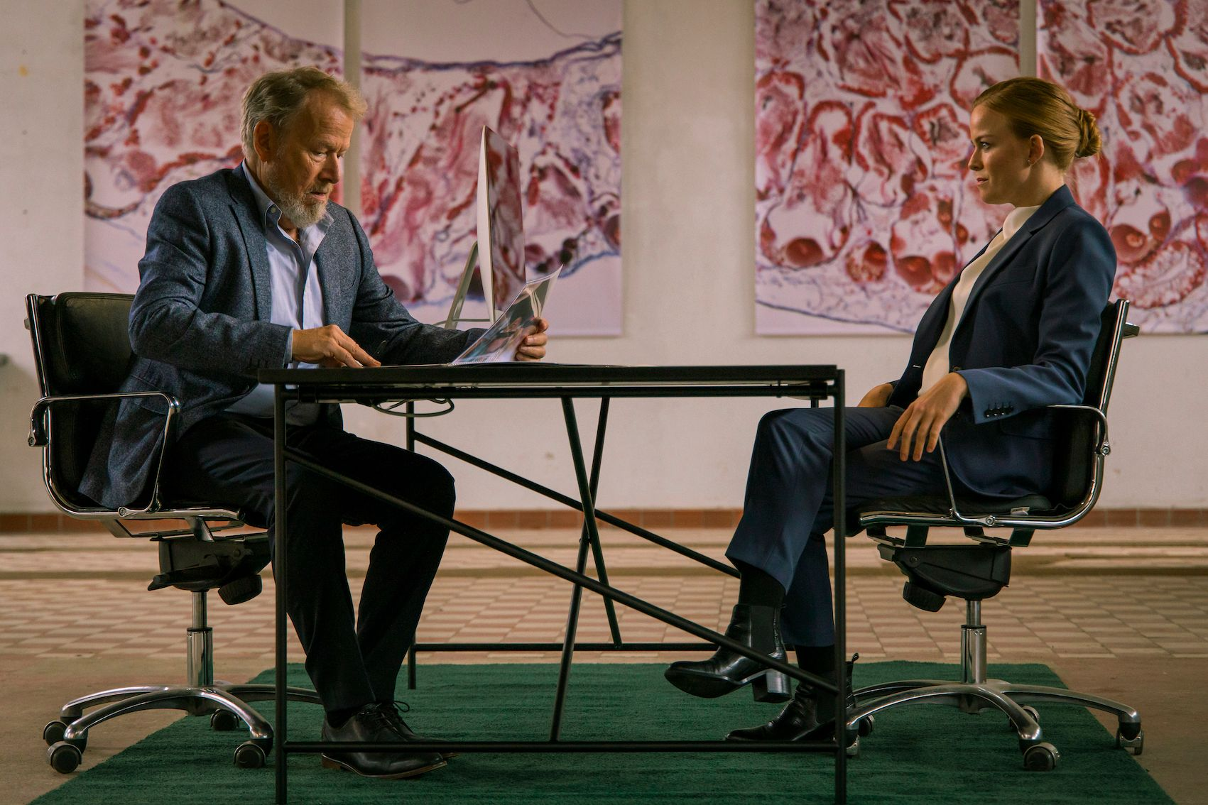 Anders Heinrichsen e Signe Egholm Olsen