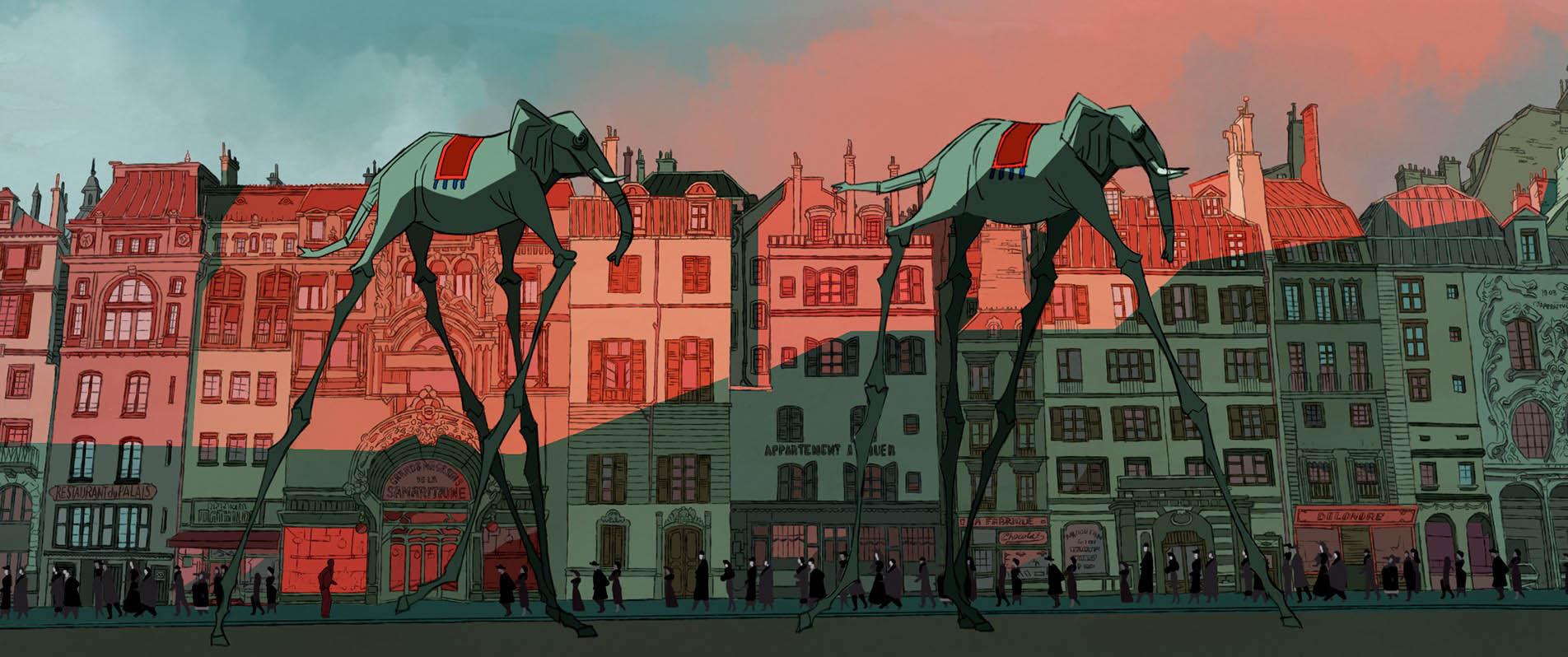 Buñuel - Nel labirinto delle tartarughe recensione del film d'animazione di Salvador Simó