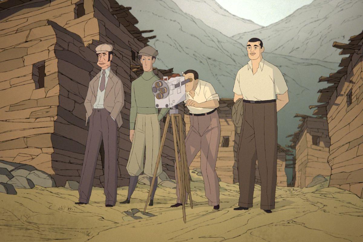 Luis Buñuel gira Terra senza pane